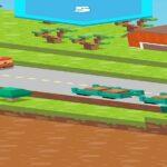 Blocky Road Runner Game 2D
