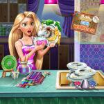 Goldie Dish Washing