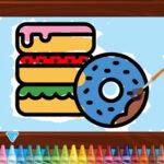 Kids Coloring Bakery