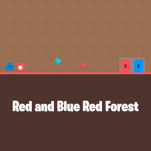 Image Red and Blue Red Forest
