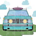 Retro Cars Jigsaw