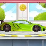 Sports Car Wash 2D